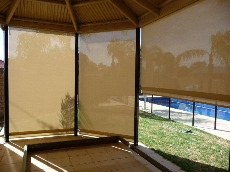 Other Outdoor Mesh Blinds Outside Adelaide Clear Cafe Blinds